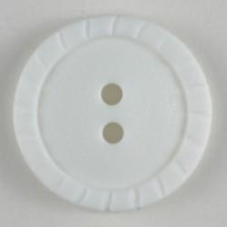 Knapp, 15mm hvit