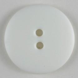 Knapp, 20mm hvit