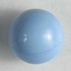 Knapp, 10mm lys blå, kule