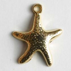 Anheng, 18mm gull,sjøstjerne