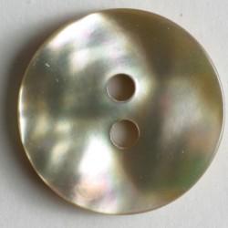 Perlemorknapp, 15mm