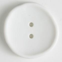 Knapp, 28mm hvit