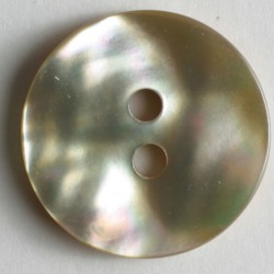 Perlemorknapp, 18mm