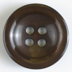 Knapp, 34mm brun