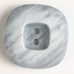 Knapp, 34mm melert grå
