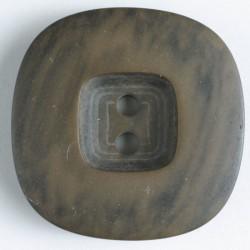 """Knapp, 34mm """"treknapp"""",brun"""