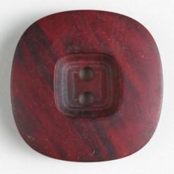 Knapp, 34mm melert vinrød