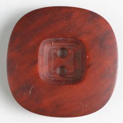 Knapp, 34mm melert rød