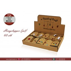 Hengelapper/jul  Display 60stk